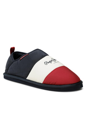 Pepe Jeans Pepe Jeans Papuče Kome Brit PMS20008 Tmavomodrá