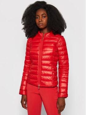 Patrizia Pepe Patrizia Pepe Pernate jakne CS0178/A503-R725 Crvena Slim Fit
