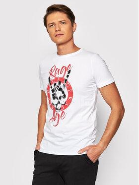 Rage Age Rage Age T-Shirt Rumble 2 Λευκό Regular Fit