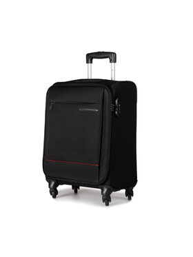 Puccini Puccini Kis szövetborítású bőrönd Parma EM50720C 1 Fekete