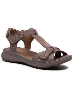 Clarks Clarks Sandále Un Adorn Vibe 261487344 Hnedá