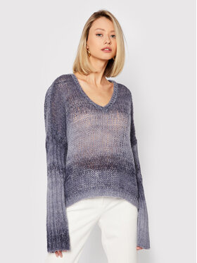 Guess Guess Sweter Ariane W1BR14 Z2W30 Granatowy Relaxed Fit
