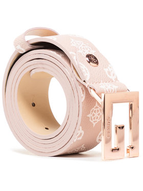 Guess Guess Dámský pásek Brighside Belts BW7417 VIN35 Růžová