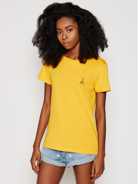 Patrizia Pepe Patrizia Pepe T-Shirt 8M1207/A8U4-R713 Žlutá Regular Fit