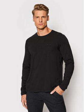 Pierre Cardin Pierre Cardin Тениска с дълъг ръкав 53270/000/12328 Черен Regular Fit