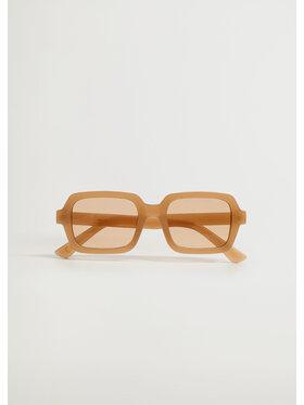 Mango Mango Okulary przeciwsłoneczne Zoey 87085686 Beżowy