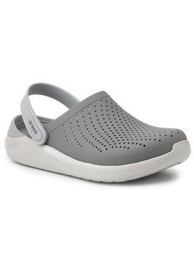 Crocs Crocs Klapki Literide Clog 204592 Szary