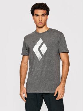 Black Diamond Black Diamond T-Shirt Chalked Up APUO950036 Szary Regular Fit