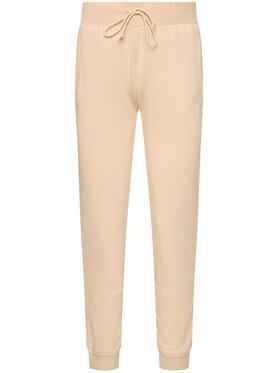 adidas adidas Spodnie dresowe Track GT6831 Beżowy Slim Fit