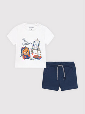 Mayoral Mayoral Completo T-shirt e pantaloncini 1671 Multicolore Regular Fit