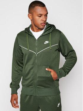 NIKE NIKE Bluza Sportswear CZ7822 Zielony Standard Fit