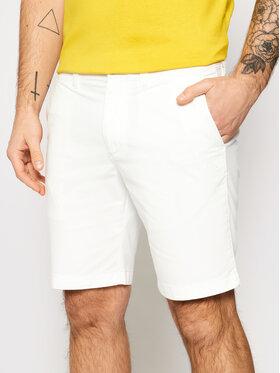 Calvin Klein Jeans Calvin Klein Jeans Bavlnené šortky J30J319061 Biela Slim Fit