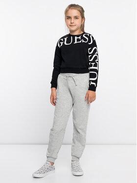 Guess Guess Sweatshirt J93Q04 K8ZT0 Schwarz Regular Fit