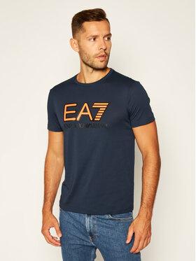 EA7 Emporio Armani EA7 Emporio Armani T-shirt 6HPT81 PJM9Z 1554 Blu scuro Regular Fit