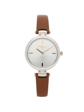 Furla Furla Часовник New Pin WW00018-VIT000-03B00-1-003-20-CN-W Кафяв
