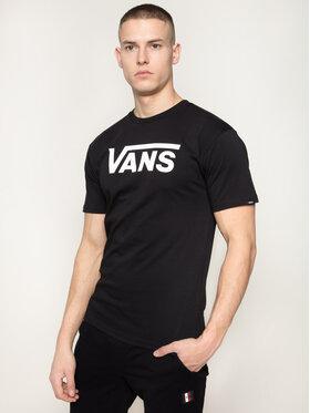 Vans Vans T-Shirt Classic VN000GGGY281 Černá Classic Fit