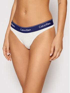 Calvin Klein Underwear Calvin Klein Underwear Стрінги 0000F3786E Сірий