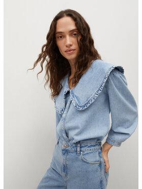Mango Mango Koszula jeansowa Grace 87049060 Niebieski Regular Fit