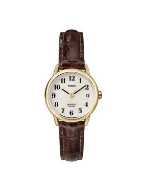 Timex Timex Hodinky Easy Reader T20071 Hnědá