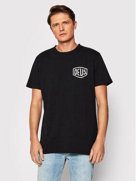Deus Ex Machina Deus Ex Machina T-Shirt Berlin Address DMW91808G Černá Regular Fit