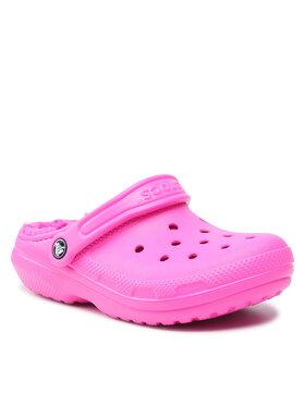 Crocs Crocs Mules / sandales de bain Classic Lined Clog 203591 Rose