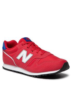 New Balance New Balance Sneakersy YC373WR2 Czerwony