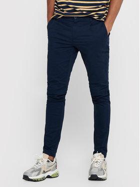 Only & Sons ONLY & SONS Kalhoty z materiálu Cam 22016775 Tmavomodrá Regular Fit