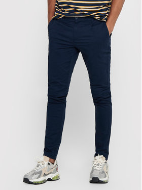 Only & Sons ONLY & SONS Pantaloni din material Cam 22016775 Bleumarin Regular Fit