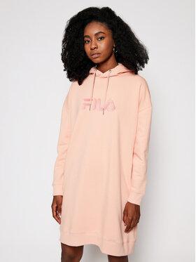 Fila Fila Úpletové šaty Teofila 687933 Růžová Oversize