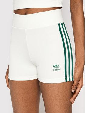 adidas adidas Sportiniai šortai Tennis Luxe Booty H56461 Balta Slim Fit