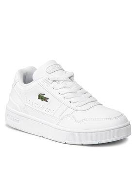 Lacoste Lacoste Sneakersy T-Clip 0121 Suc 7-42SUC000421G Bílá