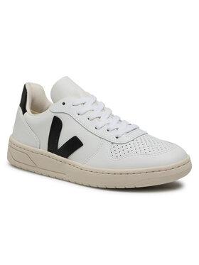 Veja Veja Sneakers V-10 Leather VX020005A Blanc