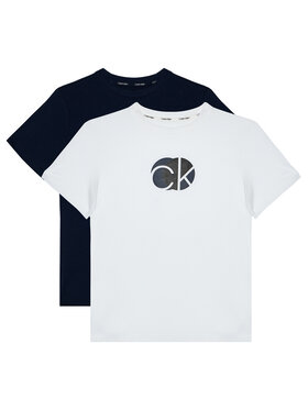 Calvin Klein Underwear Calvin Klein Underwear Комплект 2 тишъртки 2Pk Tee B70B700282 Цветен Regular Fit