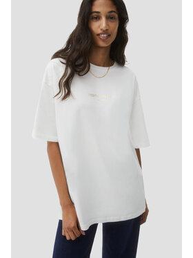 Sprandi Sprandi T-Shirt AW21-TSD019 Biały Relaxed Fit
