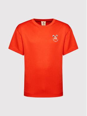 Nike Nike T-Shirt All Conditions Gear CU0098 Czerwony Regular Fit