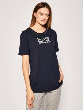 EA7 Emporio Armani EA7 Emporio Armani T-Shirt 3HTT32 TJ52Z 1554 Dunkelblau Regular Fit