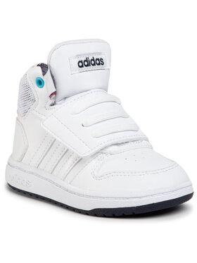 adidas adidas Buty Hoops Mid 2.0 I Boys Monstars EG3764 Biały