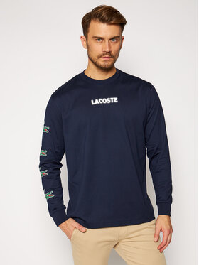 Lacoste Lacoste Bluză TH1520 Bleumarin Regular Fit