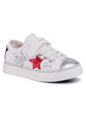 Geox Geox Sneakersy J Ciak G. I J0204I 00010 C0007 M Bílá