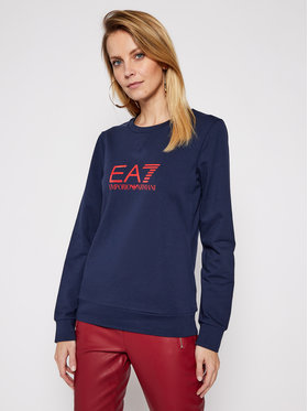 EA7 Emporio Armani EA7 Emporio Armani Sweatshirt 8NTM39 TJ31Z 0541 Dunkelblau Regular Fit