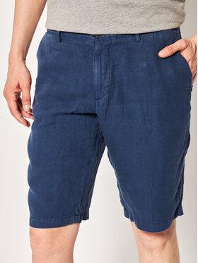 Boss Boss Pantalon scurți din material Rigan 50426361 Bleumarin Regular Fit