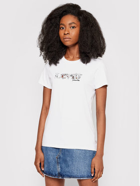 Levi's® Levi's® Marškinėliai The Perfect 17369-1623 Balta Regular Fit