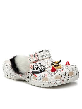 Crocs Crocs Шльопанці Classic Cruella II Clog 207402 Білий