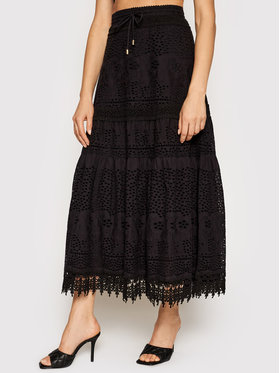 Melissa Odabash Melissa Odabash Trapez suknja Alessia CR Crna Regular Fit