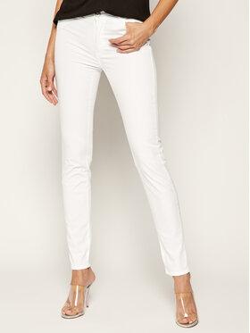 Trussardi Jeans Trussardi Jeans Spodnie materiałowe Gabardine 56J00002 Biały Skinny Fit