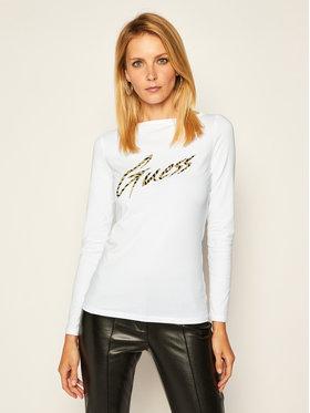 Guess Guess Блуза Norah W0BI89 J1300 Бял Slim Fit