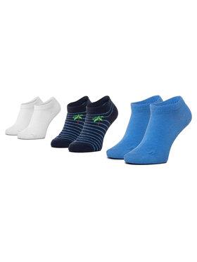 Mayoral Mayoral Σετ κοντές κάλτσες παιδικές 3 τεμαχίων 10783 Σκούρο μπλε