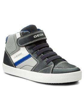 Geox Geox Auliniai batai J Gisli B. E J825CE 0MEBC C0661 S Tamsiai mėlyna