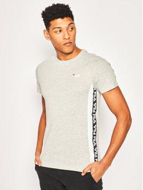 Fila Fila T-Shirt Tobal Tee 687709 Grau Regular Fit