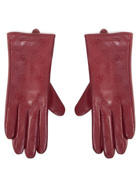 Guess Guess Dámske rukavice Not Coordinated Gloves AW8537 POL02 Bordová